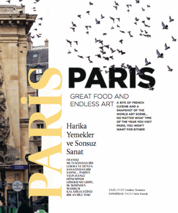 SkyLife Magazine (Turkish Airlines) – Paris