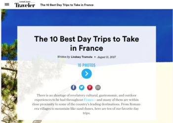 Conde Nast Traveler – 10 Best Day Trips in France