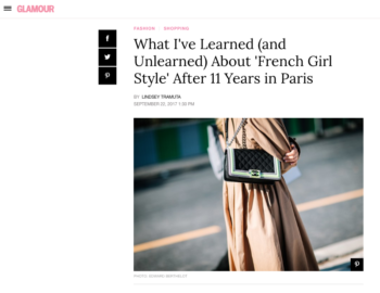 Glamour – What I've Learned (and Unlearned) About Style
