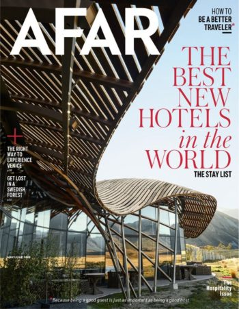 Afar Magazine – The Best New Hotels in the World